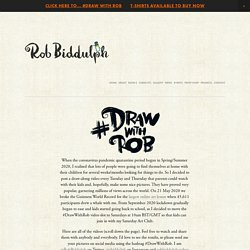 #DrawWithRob — Rob Biddulph