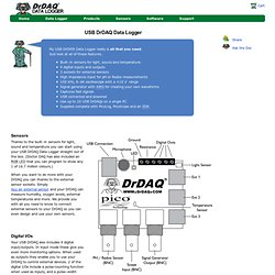 The USB DrDAQ Data Logger - making data logging fun
