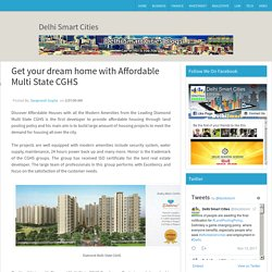 Get your dream home with Affordable Multi State CGHS