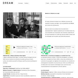 Podcast de l'agence DREAM