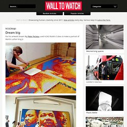 Dream big - Wall to Watch - StumbleUpon