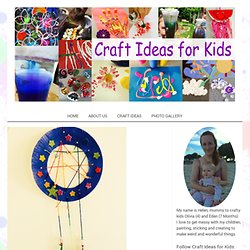 Dream Catcher - Craft Ideas for Kids