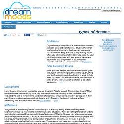 Type of Dreams