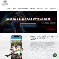Dream 11 CLone App Development -