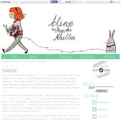 Dreamcatcher . - Aline au pays des mailles ...