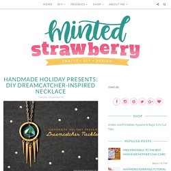 DIY Dreamcatcher-inspired Necklace - Minted Strawberry