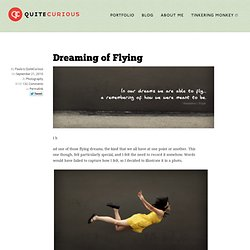 Quite Curious » Dreaming of Flying