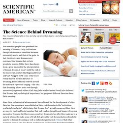 The Science Behind Dreaming
