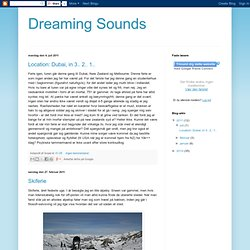 Dreaming Sounds
