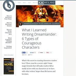 What I Learned Writing Dreamlander: 6 Types of Courageous Characters
