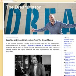 Coaching and Consulting Sessions from The DreamMason