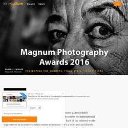 Magnum Photography Awards 2016