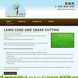 DreamScapes - Residential Landscape Services Okotoks, Calgary and Foothills