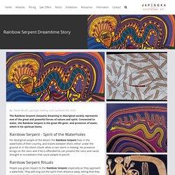 Rainbow Serpent Dreamtime Story - Japingka Aboriginal Art Gallery