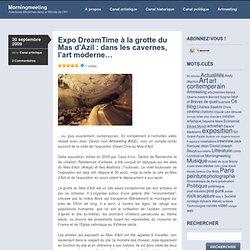 Expo DreamTime à la grotte du Mas d'Azil : dans les cavernes, l'