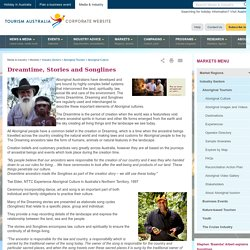 Dreamtime, Stories and Songlines - Markets - Tourism Australia