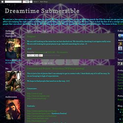 Dreamtime Submersible