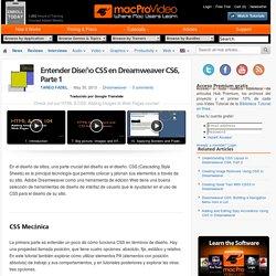 Entender Diseño CSS en Dreamweaver CS6 Parte 1 - Dreamweaver