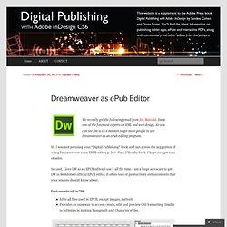 Digital Publishing with Adobe InDesign