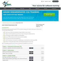 Adobe Dreamweaver CS6 Training & Online Video Tutorials Courses