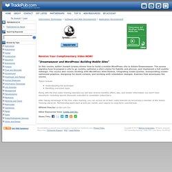 Dreamweaver and WordPress: Building Mobile Sites, Free Lynda.com Inc. Video