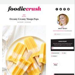Dreamy Creamy Mango Pops