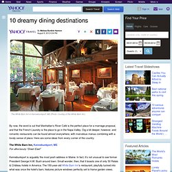 10 dreamy dining destinations