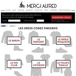 Les dress codes parisiens