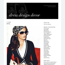 Dress Design Decor