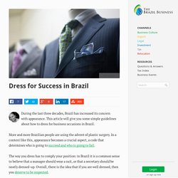 Dress for Success in Brazil