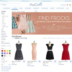 Vintage-Inspired Dresses, Cute Dresses, Retro & Indie Women's Dresses