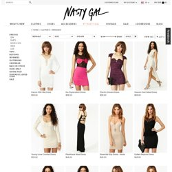 Clothes Dresses at Nasty Gal - StumbleUpon