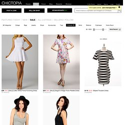 Dresses on Chictopia Shop - A Marketplace for Buyers and Sellers