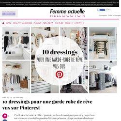 10 dressings pour une garde robe de rêve vus sur Pinterest