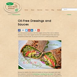 Oil-Free Dressings and Sauces