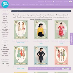 Dressmaking Patterns Archives - Sew Over It