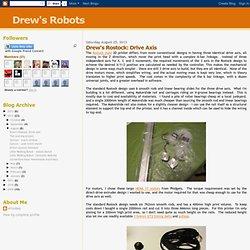 Drew's Rostock: Drive Axis