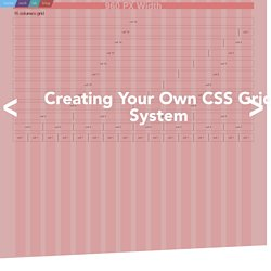 Creating Your Own CSS Grid System