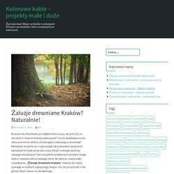 Żaluzje drewniane Kraków? Naturalnie!