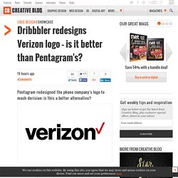 Dribbbler redesigns Verizon logo – is it better than Pentagram's?