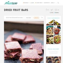 Dried Fruit Bars