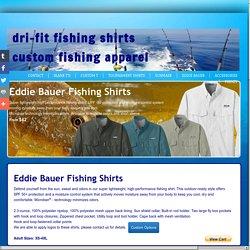 Drift fishing shirts - Dri-Fit Fishing Shirts