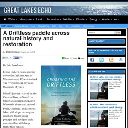 A Driftless paddle across natural history and restoration