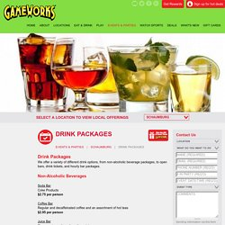 Hourly Bar Packages in Schaumburg
