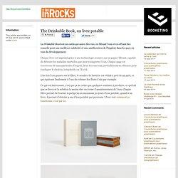 The Drinkable Book, un livre potable