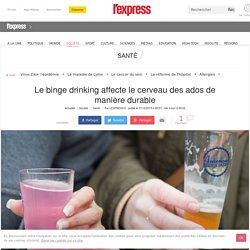 Le binge drinking affecte le cerveau des ados de manière durable