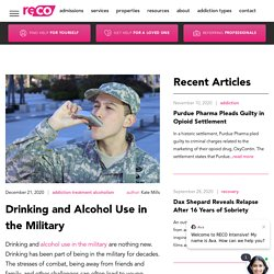 Drinking and Alcohol Use in the Military