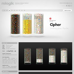 Cipher - Drinking glass. Psychic. | relogik.com