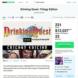 Drinking Quest: Trilogy Edition by Jason Anarchy