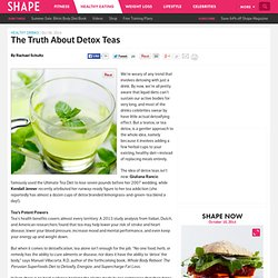 Do Detox Drinks Work? The Health Benefits of Tea